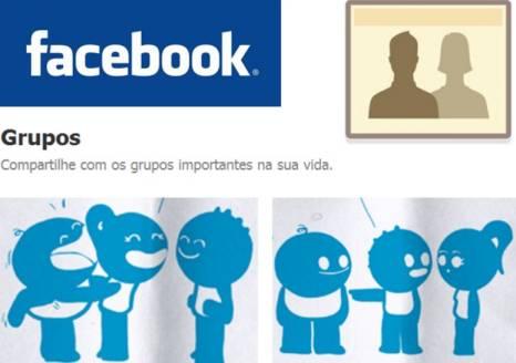 Postar em grupos no Facebook